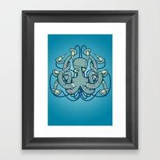 Inktopus Framed Art Print