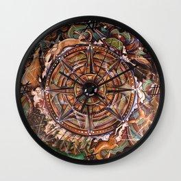 Progress Mandala Wall Clock
