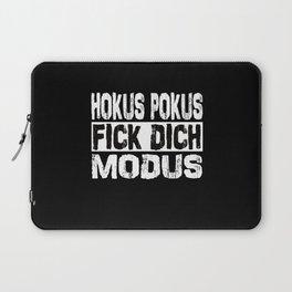 Hocus Pocus Fuck You Mode Funny Sayings Irony Laptop Sleeve