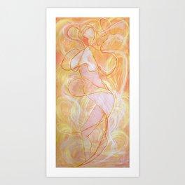 Naissance Femme Art Print