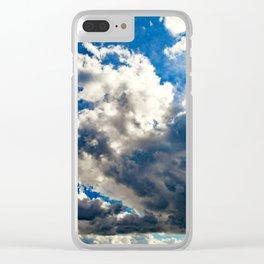 Cloudscape Clear iPhone Case