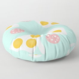 #Abstract #pattern #eggs Floor Pillow
