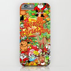 In Christmas melt into the crowd and enjoy it iPhone 6s Slim Case