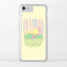 The Easter Bunny Shark Clear iPhone Case