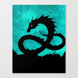 Sea Serpent Canvas Print