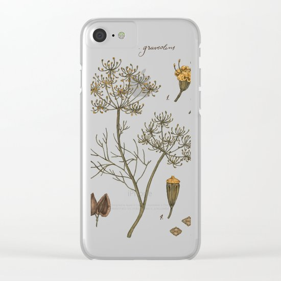 Dill Clear iPhone Case