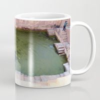 pool Mugs featuring Pool by Avigur