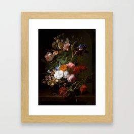Rachel_Ruysch_-_Vase_with_Flowers_-_1700_-_Mauritshuis_151.jpg Framed Art Print
