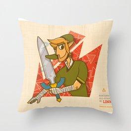 Link | Nintendo All-Stars #1 Throw Pillow