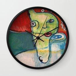 Dos Almas Wall Clock