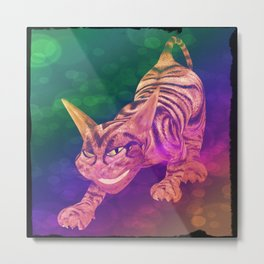 chesire cat Metal Print