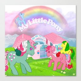 g1 my little pony Canvas Print