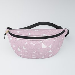 Pink diamonds / Lineart diamonds pattern Fanny Pack