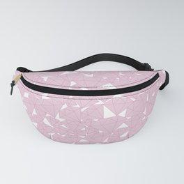 Pink diamonds / Lineart diamonds pattern Fanny Pack