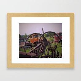 Junk or History Framed Art Print