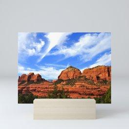 Red Rocks of Sedona Mini Art Print