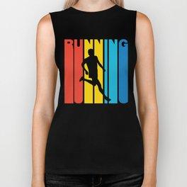Retro Style Running Runner Biker Tank