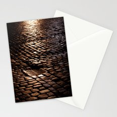 cobbled rain II. Stationery Cards