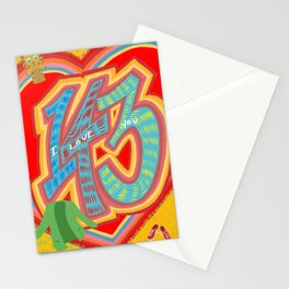 143 - I Love You Neighbor - Mister Rogers Neighborhood Inspired Stationery Cards
