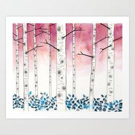 aspen 3 Art Print