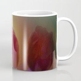 window curtain with flowerpower -3- Coffee Mug