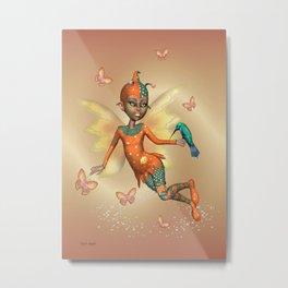 Pixie .. fantasy fairy art Metal Print
