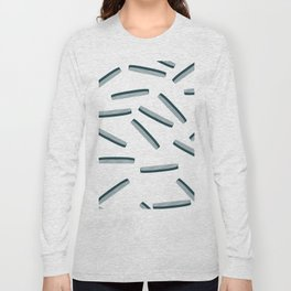 Hair Combs pattern. Long Sleeve T-shirt