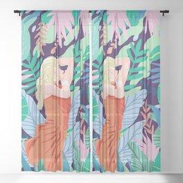 Soulful Garden Sheer Curtain