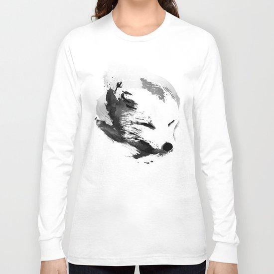 White Fox Long Sleeve T-shirt