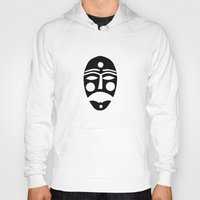mask Hoodies featuring Mask by Hayley Wells