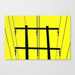High Voltage Canvas Print