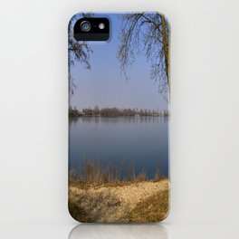 looking to the Lake in Laupheim iPhone Case
