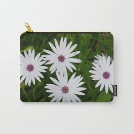 Beautiful White Daisies Carry-All Pouch