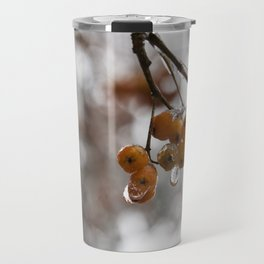 Red in Ice Travel Mug