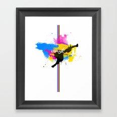 cmyksplat Framed Art Print