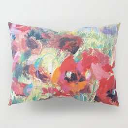 Summers red flowers Pillow Sham