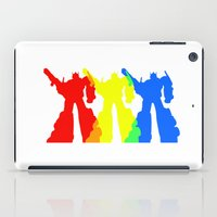 optimus prime iPad Cases featuring Optimus Prime Colors by Christopher