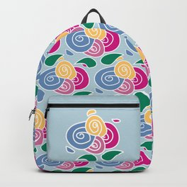 Floral Flowers Backpack