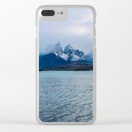 Los Cuernos | Torres del Paine National Park, Patagonia Clear iPhone Case