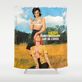 Cured Shower Curtain