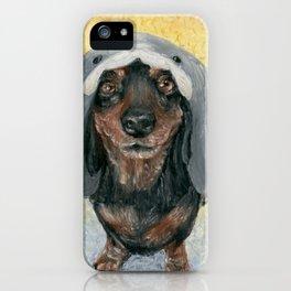Oscar's Shark Hat iPhone Case