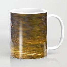 Duck in A Pond Coffee Mug