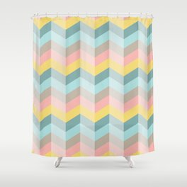 Holiday Happy Easter Waves Shower Curtain