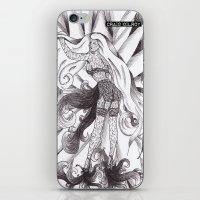 jasmine iPhone & iPod Skins featuring Jasmine by DESINK
