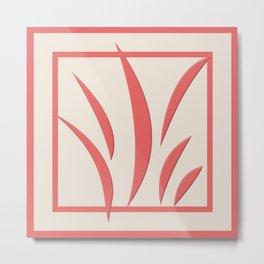 Cayenne Botanical 1 Metal Print