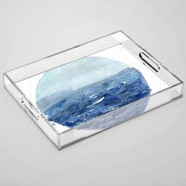 Around the Ocean Acrylic Tray