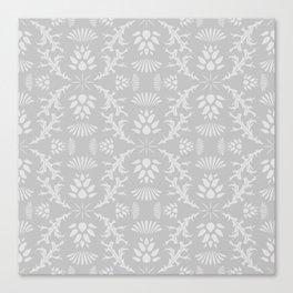 Thistles on Grey Canvas Print