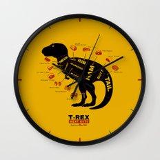 Dino Deli Wall Clock