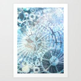 Molecular Art Print