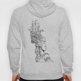 Girl With Ship Hoody